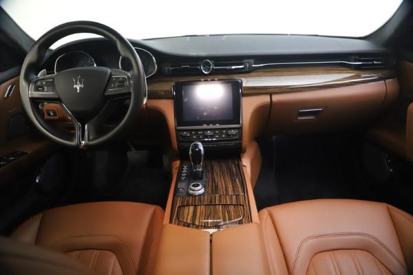 Used 2018 Maserati Quattroporte S Q4 GranLusso for sale $69,900 at Maserati of Greenwich in Greenwich CT 06830 27