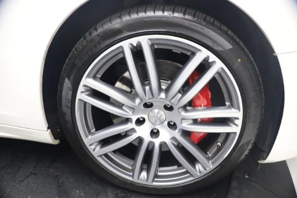 Used 2018 Maserati Ghibli S Q4 GranSport for sale $55,900 at Maserati of Greenwich in Greenwich CT 06830 28