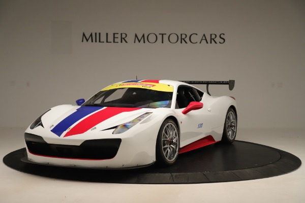 Used 2015 Ferrari 458 Challenge for sale $169,900 at Maserati of Greenwich in Greenwich CT 06830 1