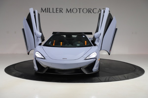 Used 2018 McLaren 570S Spider for sale Sold at Maserati of Greenwich in Greenwich CT 06830 17