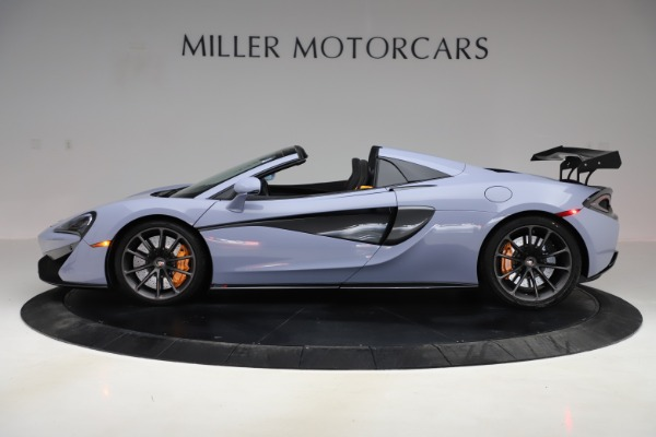 Used 2018 McLaren 570S Spider for sale Sold at Maserati of Greenwich in Greenwich CT 06830 2