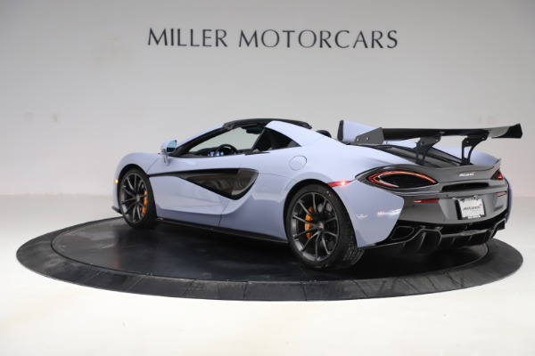 Used 2018 McLaren 570S Spider for sale Sold at Maserati of Greenwich in Greenwich CT 06830 3