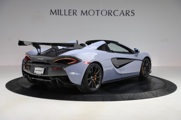 Used 2018 McLaren 570S Spider for sale Sold at Maserati of Greenwich in Greenwich CT 06830 5