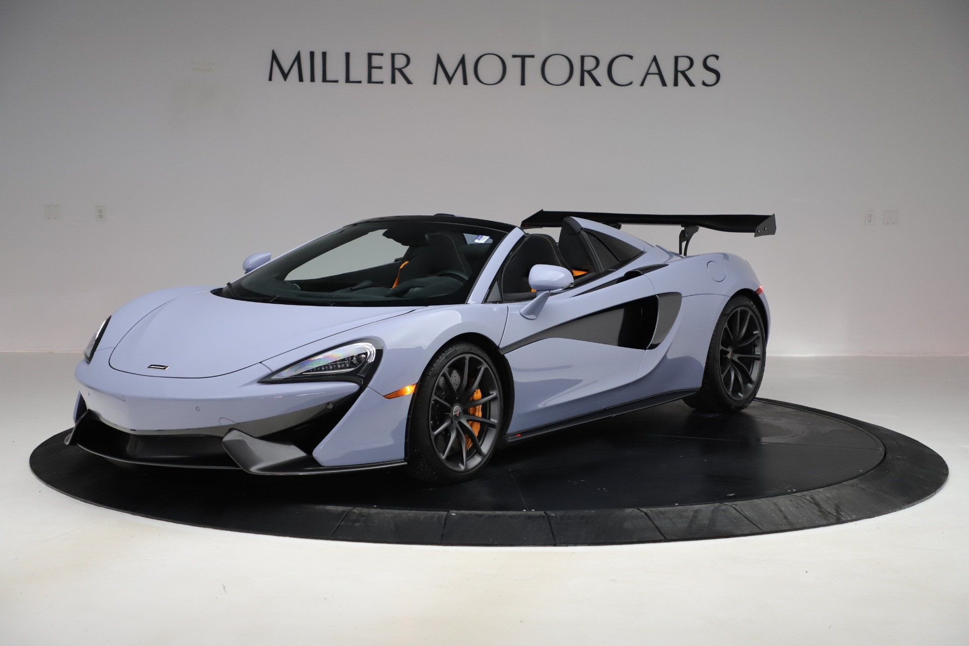 Used 2018 McLaren 570S Spider for sale Sold at Maserati of Greenwich in Greenwich CT 06830 1