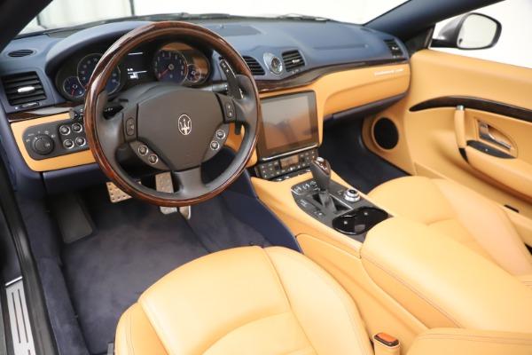 Used 2018 Maserati GranTurismo Sport Convertible for sale $99,900 at Maserati of Greenwich in Greenwich CT 06830 19