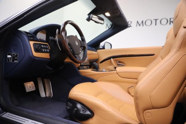Used 2018 Maserati GranTurismo Sport Convertible for sale $99,900 at Maserati of Greenwich in Greenwich CT 06830 20