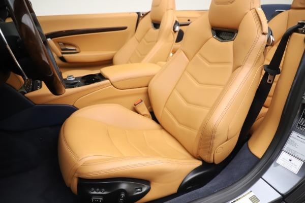 Used 2018 Maserati GranTurismo Sport Convertible for sale $99,900 at Maserati of Greenwich in Greenwich CT 06830 21