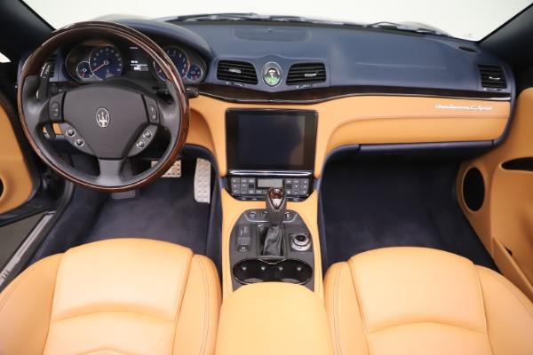 Used 2018 Maserati GranTurismo Sport Convertible for sale $99,900 at Maserati of Greenwich in Greenwich CT 06830 22