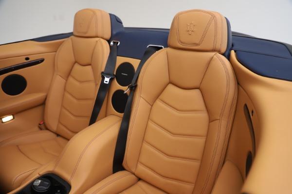 Used 2018 Maserati GranTurismo Sport Convertible for sale $99,900 at Maserati of Greenwich in Greenwich CT 06830 24