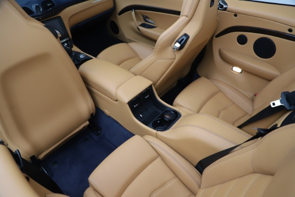 Used 2018 Maserati GranTurismo Sport Convertible for sale $99,900 at Maserati of Greenwich in Greenwich CT 06830 25