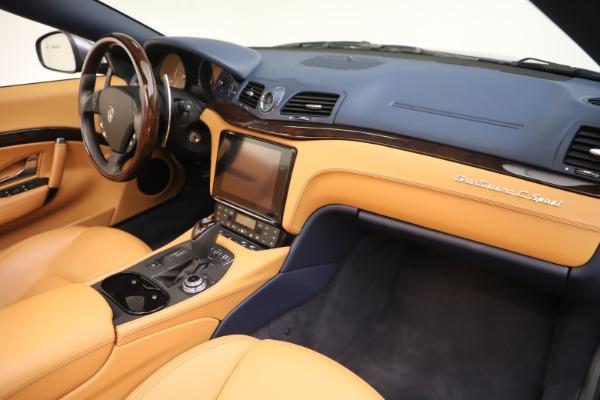 Used 2018 Maserati GranTurismo Sport Convertible for sale $99,900 at Maserati of Greenwich in Greenwich CT 06830 26
