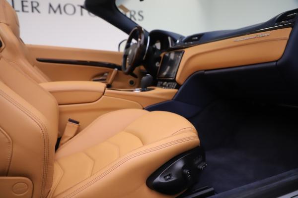 Used 2018 Maserati GranTurismo Sport Convertible for sale $99,900 at Maserati of Greenwich in Greenwich CT 06830 27