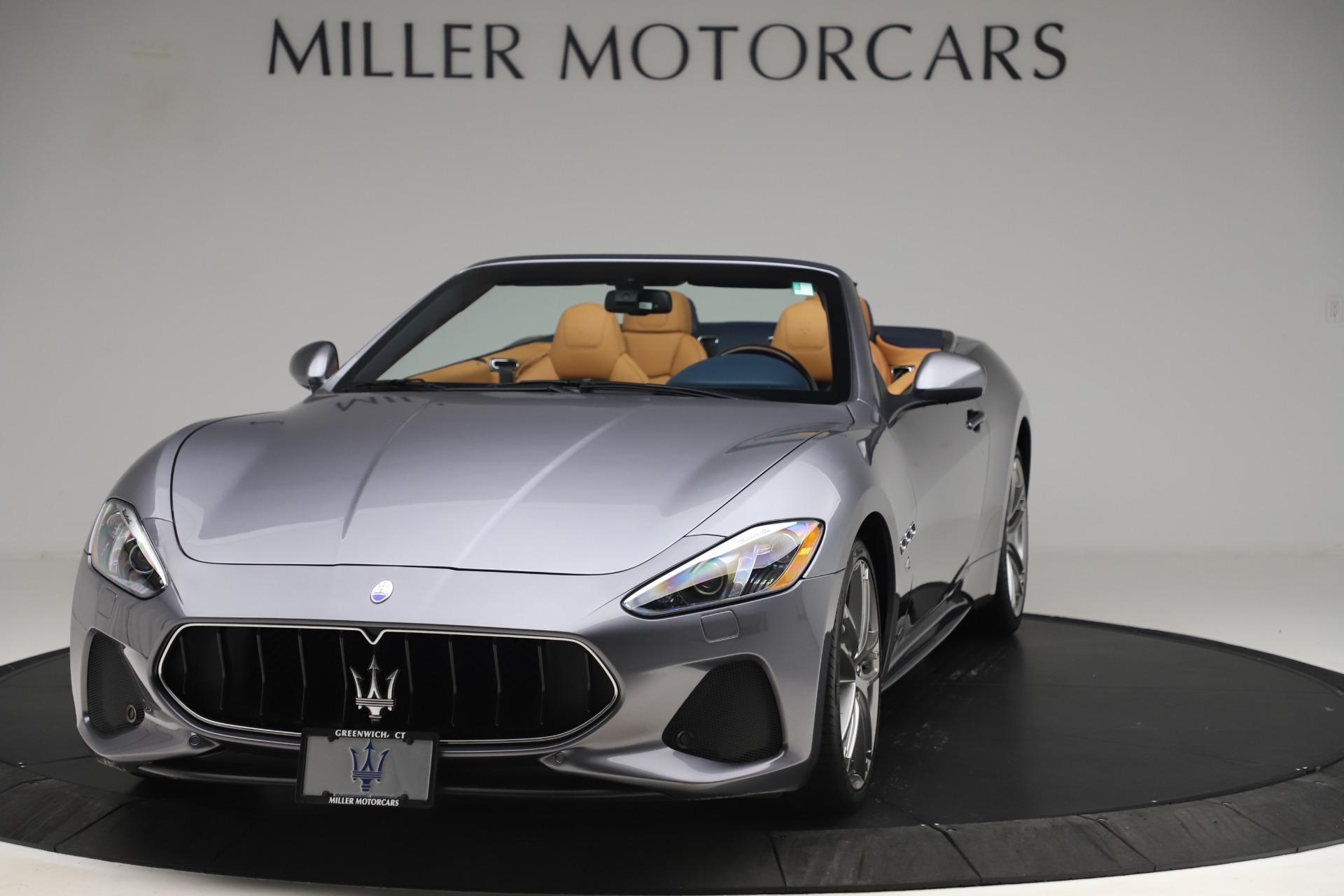 Used 2018 Maserati GranTurismo Sport Convertible for sale $99,900 at Maserati of Greenwich in Greenwich CT 06830 1