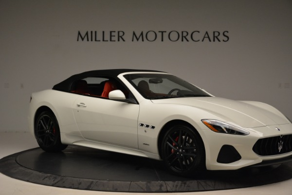 New 2018 Maserati GranTurismo Sport Convertible for sale Sold at Maserati of Greenwich in Greenwich CT 06830 11