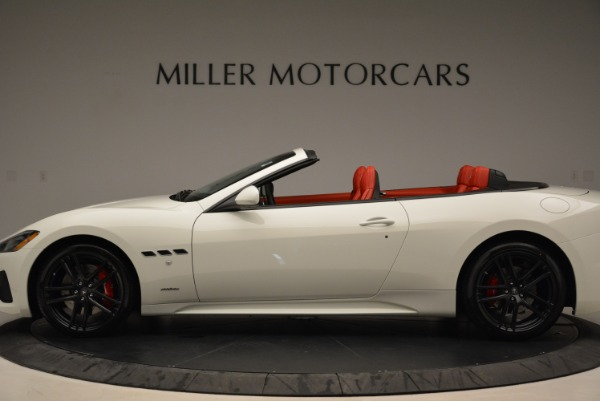New 2018 Maserati GranTurismo Sport Convertible for sale Sold at Maserati of Greenwich in Greenwich CT 06830 15