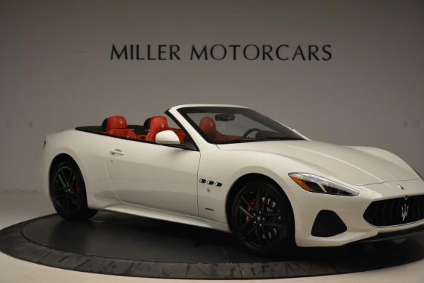 New 2018 Maserati GranTurismo Sport Convertible for sale Sold at Maserati of Greenwich in Greenwich CT 06830 22
