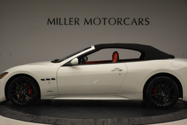 New 2018 Maserati GranTurismo Sport Convertible for sale Sold at Maserati of Greenwich in Greenwich CT 06830 4
