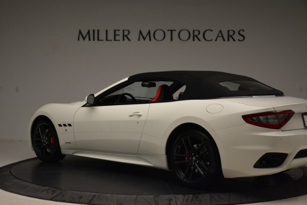 New 2018 Maserati GranTurismo Sport Convertible for sale Sold at Maserati of Greenwich in Greenwich CT 06830 5