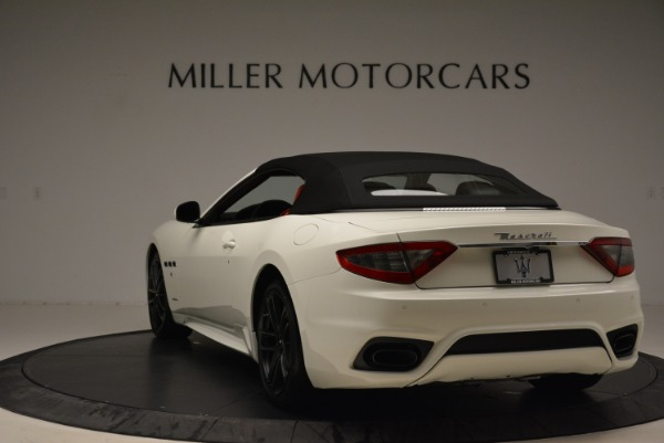 New 2018 Maserati GranTurismo Sport Convertible for sale Sold at Maserati of Greenwich in Greenwich CT 06830 6