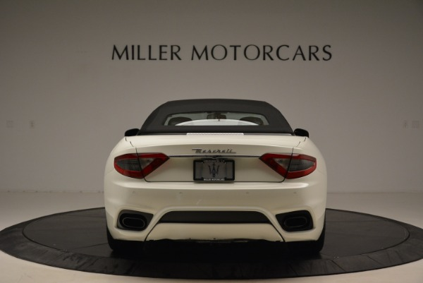 New 2018 Maserati GranTurismo Sport Convertible for sale Sold at Maserati of Greenwich in Greenwich CT 06830 7