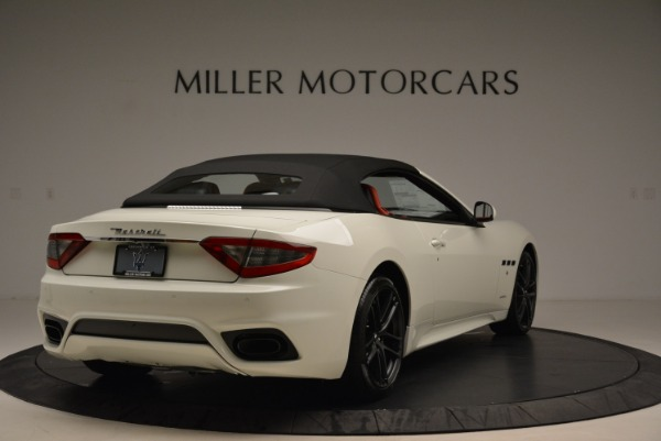New 2018 Maserati GranTurismo Sport Convertible for sale Sold at Maserati of Greenwich in Greenwich CT 06830 8
