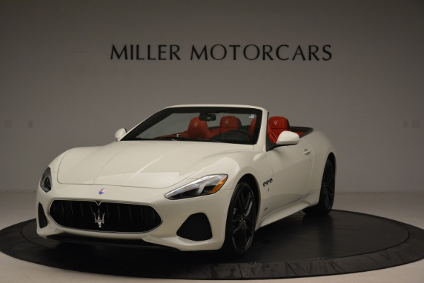 New 2018 Maserati GranTurismo Sport Convertible for sale Sold at Maserati of Greenwich in Greenwich CT 06830 1