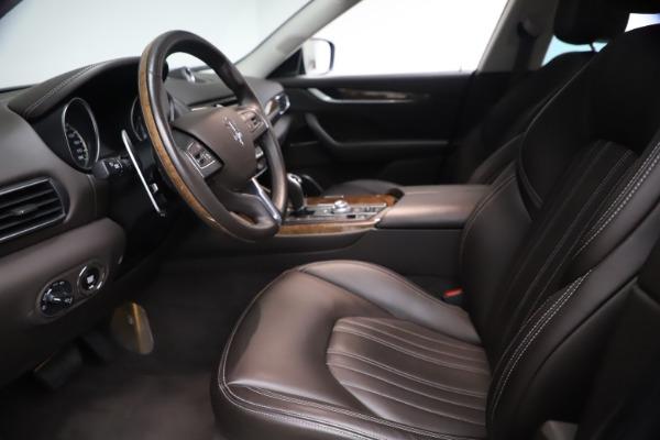 Used 2018 Maserati Levante S Q4 GranLusso for sale $67,900 at Maserati of Greenwich in Greenwich CT 06830 13