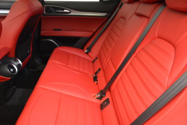 New 2018 Alfa Romeo Stelvio Ti Sport Q4 for sale Sold at Maserati of Greenwich in Greenwich CT 06830 17