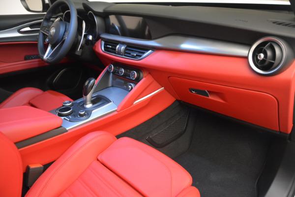 New 2018 Alfa Romeo Stelvio Ti Sport Q4 for sale Sold at Maserati of Greenwich in Greenwich CT 06830 19