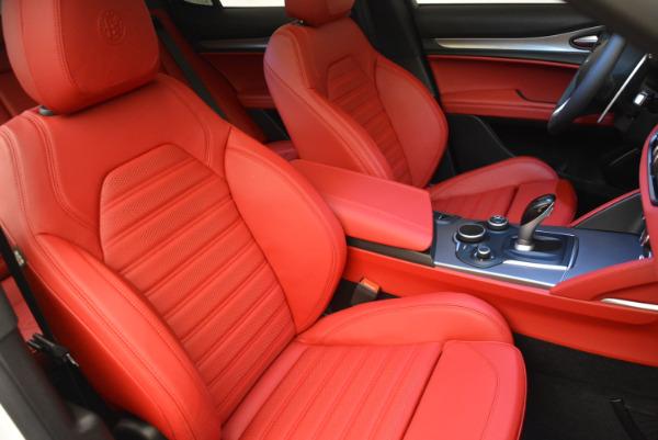 New 2018 Alfa Romeo Stelvio Ti Sport Q4 for sale Sold at Maserati of Greenwich in Greenwich CT 06830 21