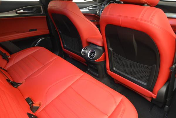 New 2018 Alfa Romeo Stelvio Ti Sport Q4 for sale Sold at Maserati of Greenwich in Greenwich CT 06830 22