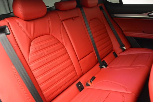 New 2018 Alfa Romeo Stelvio Ti Sport Q4 for sale Sold at Maserati of Greenwich in Greenwich CT 06830 24