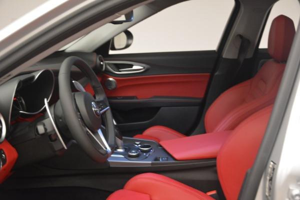 New 2018 Alfa Romeo Giulia Ti Sport Q4 for sale Sold at Maserati of Greenwich in Greenwich CT 06830 14