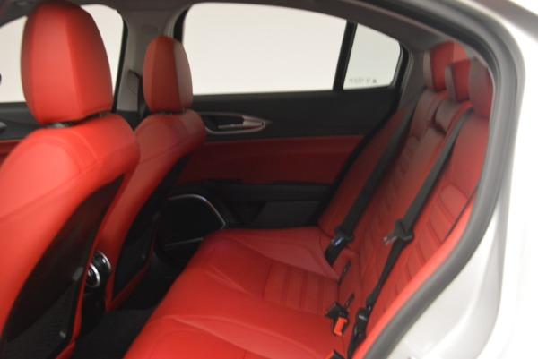 New 2018 Alfa Romeo Giulia Ti Sport Q4 for sale Sold at Maserati of Greenwich in Greenwich CT 06830 20