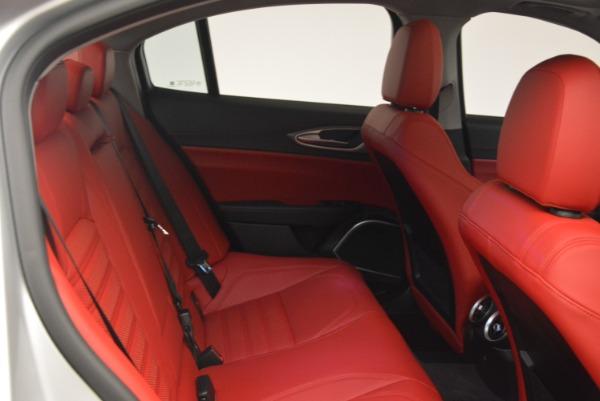 New 2018 Alfa Romeo Giulia Ti Sport Q4 for sale Sold at Maserati of Greenwich in Greenwich CT 06830 23