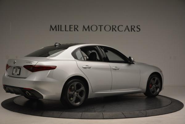 New 2018 Alfa Romeo Giulia Ti Sport Q4 for sale Sold at Maserati of Greenwich in Greenwich CT 06830 8