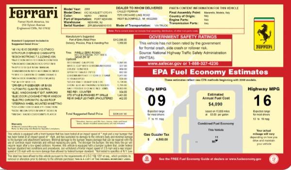Used 2008 Ferrari 612 Scaglietti OTO for sale $125,900 at Maserati of Greenwich in Greenwich CT 06830 23