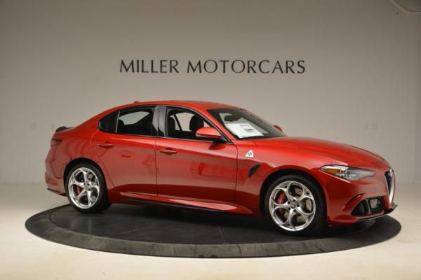 New 2018 Alfa Romeo Giulia Quadrifoglio for sale Sold at Maserati of Greenwich in Greenwich CT 06830 10