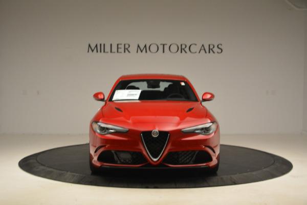 New 2018 Alfa Romeo Giulia Quadrifoglio for sale Sold at Maserati of Greenwich in Greenwich CT 06830 12