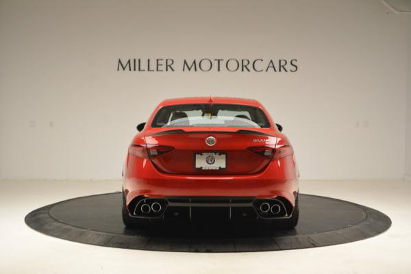 New 2018 Alfa Romeo Giulia Quadrifoglio for sale Sold at Maserati of Greenwich in Greenwich CT 06830 6