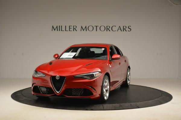 New 2018 Alfa Romeo Giulia Quadrifoglio for sale Sold at Maserati of Greenwich in Greenwich CT 06830 1