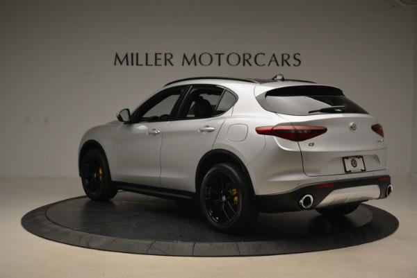 New 2018 Alfa Romeo Stelvio Ti Sport Q4 for sale Sold at Maserati of Greenwich in Greenwich CT 06830 5