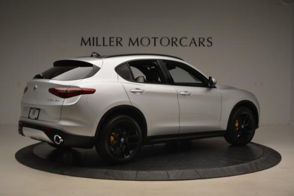 New 2018 Alfa Romeo Stelvio Ti Sport Q4 for sale Sold at Maserati of Greenwich in Greenwich CT 06830 8