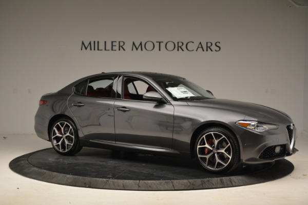 New 2018 Alfa Romeo Giulia Ti Sport Q4 for sale Sold at Maserati of Greenwich in Greenwich CT 06830 10