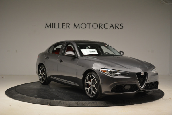 New 2018 Alfa Romeo Giulia Ti Sport Q4 for sale Sold at Maserati of Greenwich in Greenwich CT 06830 11