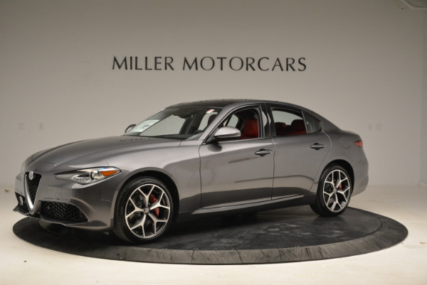 New 2018 Alfa Romeo Giulia Ti Sport Q4 for sale Sold at Maserati of Greenwich in Greenwich CT 06830 2