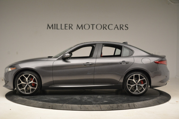 New 2018 Alfa Romeo Giulia Ti Sport Q4 for sale Sold at Maserati of Greenwich in Greenwich CT 06830 3