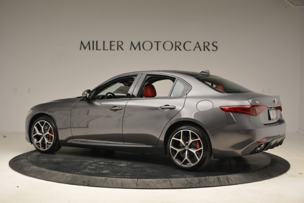 New 2018 Alfa Romeo Giulia Ti Sport Q4 for sale Sold at Maserati of Greenwich in Greenwich CT 06830 4