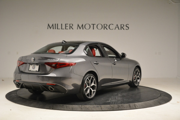 New 2018 Alfa Romeo Giulia Ti Sport Q4 for sale Sold at Maserati of Greenwich in Greenwich CT 06830 7