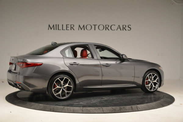 New 2018 Alfa Romeo Giulia Ti Sport Q4 for sale Sold at Maserati of Greenwich in Greenwich CT 06830 8
